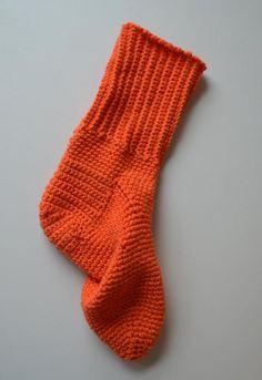 Virkattu sukka!
