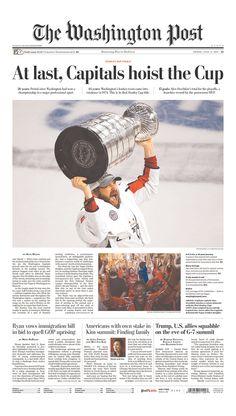 d150deada Washington Capitals  2018 Stanley Cup Champions Washington Capitals Stanley  Cup