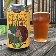 Mama Tried is a American IPA style beer brewed by Brazos Valley Brewing Company in Brenham, TX.