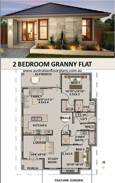 Small Cottage House Plans, Small Cottage Homes, Modern House Plans, Small House Plans, Small Homes, House Plans Online, House Plans For Sale, Base Building, Building A House