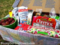 3 Easy Ways to Pack Snacks on Road Trips  Save Money - MoneySavingQueen - May 2012