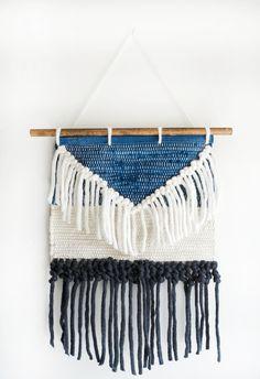 DIY No Weave Wall Hanging