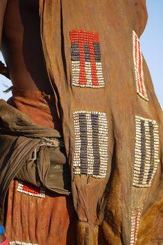 Africa | Details; Turkana woman.  Kenya | ©Rita Willaert