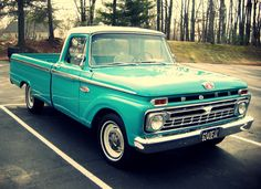 Ford Pickup | officially own a truck. A really old one. Love the color!!!