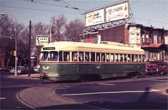 Rt. 56-Erie/Torresdale Location: Erie/W. Hunting Park/22nd Car: Photo by: Joe Testagrose 1970