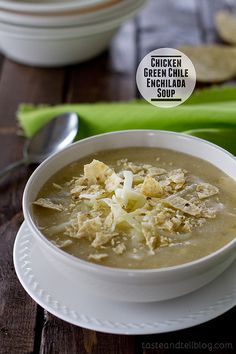A change from your typical red enchilada soup, this Chicken Green Chile Enchilada Soup is filled with your favorite chicken enchilada flavors. This post is sponsored by Kroger. In typical Utah fashion, the weather around here is going from warm and summery, straight into cold and dark. There have even been rumors that there might...