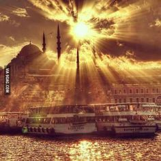 Looks like Gandalf the White has arrived to Istanbul this morning