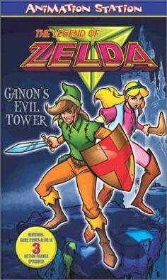 Legend of Zelda - Ganons Evil Tower [VHS] @ niftywarehouse.com #NiftyWarehouse #Geek #Zelda #Products #LegendOfZelda #Nintendo