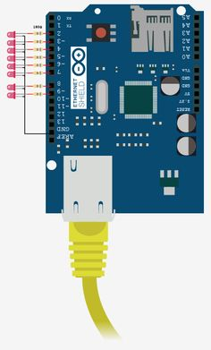 arduino-ethernet-server LED output