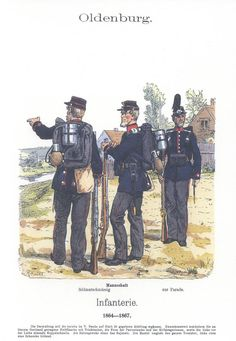 Band XVII #5.- Oldenburg. Infanterie 1864-67.
