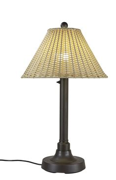 Patio Living Concepts 19217 Tahiti Outdoor Table Lamp with 2' Tubular Body, 34' *** Be sure to check out this awesome product.