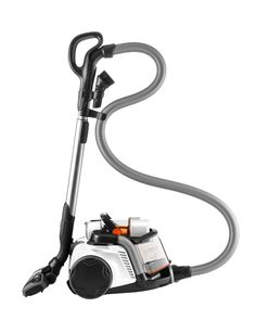 Aside from the AeroPro Extreme nozzle for carpet and hard floors, the UltraFlex Animal Allergy vacuum includes a turbo nozzle which  is ideal for pet hair pick-up. The turbo nozzle features powerful turbine driven bristles that reach deep into carpet.