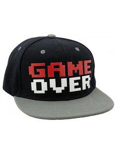 Game Over Snapback Baseball Hat - CV1281OW9QL. Fashion HatsBlazer FashionMen  ... 6d104b7a28e8