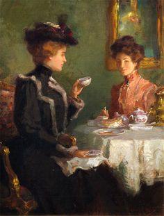 'Cup of Tea' ~ Walter Granville-Smith