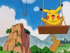 Pokemon Gifs Gotta Pin'em All! Pikachu Art, Cute Pikachu, Cute Pokemon, Pokemon Gif, Pokemon Memes, Ash Pokemon, Gifs, Pixel Art, Pokemon Universe