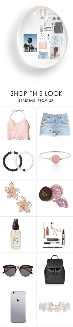 """""""sea salt"""" by lindsss2 on Polyvore featuring Hollister Co., Forte Couture, Lokai, Michael Kors, NAKAMOL, Olivine, Illesteva, Humble Chic and Charlotte Russe"""