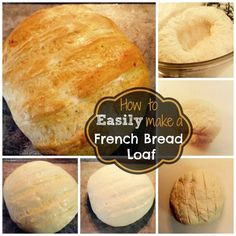 How To Make Homemade French Bread Loaf