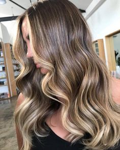 Baby lights & balayage