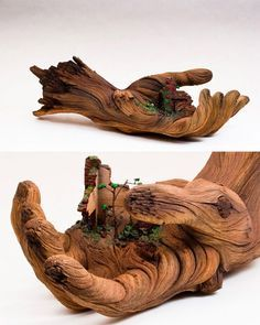 Ceramic sculpture by CHRISTOPHER DAVID WHITE....