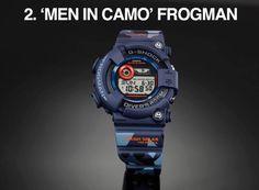 Camo G Shock Frogman