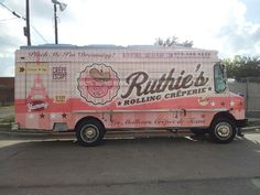 Ruthie's Food Truck wrap in Dallas