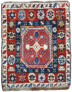 85. Shah Sevan piled bag. C1875-1885