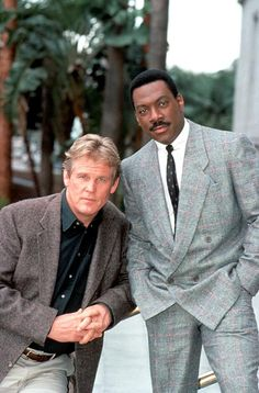Eddie Murphy and Nick Nolte Another 48 Hours New York Movie, The Wb, Eddie Murphy, The Best Films, Good Movies, Suit Jacket, Jackets, Tbs, Fashion