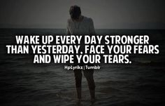 stronger by the day