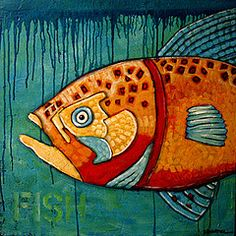 Here fishy fishy by Suzan Buckner Fish Quilt, Fish Design, Arte Popular, Fish Art, Silk Painting, Art Plastique, Zentangle, Medium Art, Painting Inspiration
