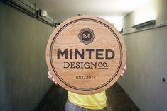 Natural, wood sign #wood #woodworking #design #handmade #smallbusiness #build #sign #signage