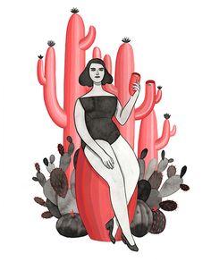 The Cactus Drinker - monica garwood