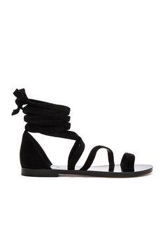 RAYE Sloane Sandal in Black