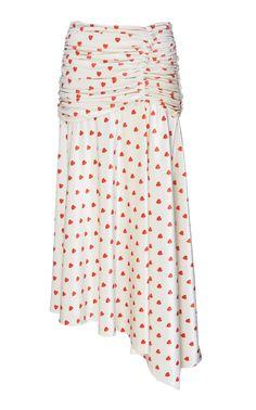 VIVETTA JENSEN ROUCHED SKIRT. #vivetta #cloth #