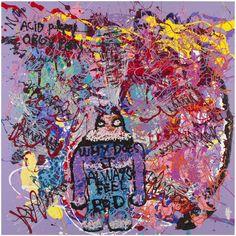"Unintentional Radical Bjarne Melgaard On His ""Puppy Orgy Acid Party"" Institute Of Contemporary Art, Artist Profile, London Art, Outsider Art, Art Fair, Artist At Work, Art Direction, Artsy, Puppies"