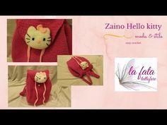 TUTORIAL: Zaino Basic/crochet backpack /mochila crochet***lafatatuttofare*** - YouTube