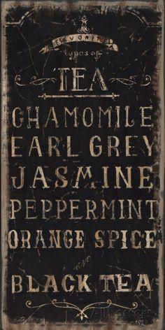 Tea Prints by Luis Sanchez at AllPosters.com