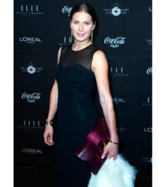 Andrea Elisabeth Rudolph at ELLE Style Awards. Buy Her amazing Skin Collection At www.hollygolightly.dk #ahollydream #hollygolightly