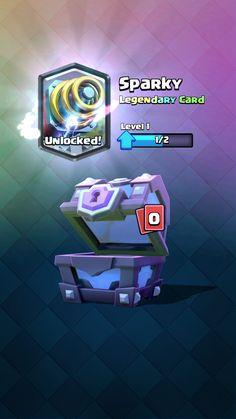 Sparky unlocked
