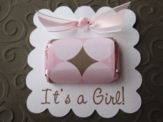 handmade baby shower party favors | baby showers so i went with something quick and easy 0 i used print ...