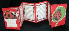 """The Grouchy Ladybug"" accordion book template!"