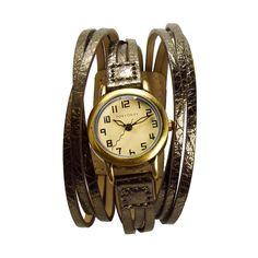 Gaucho Metallic watch - bronze, silver