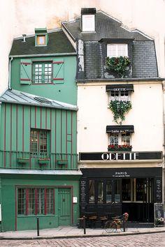 Paris Photography, Paris Pastry Shop, Odette, Fine Art Travel Photograph, Paris Decor, Large Wall Art