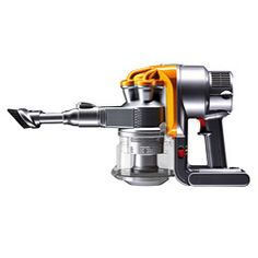 @Overstock - A Dyson vacuum is designed to operate effectively on all floor surfaces: vinyl, tile, wood and carpet. This refurbished vacuum's bagless design never loses suction and features a lifetime HEPA filter to help clean the very air you breathe.  http://www.overstock.com/Home-Garden/Dyson-DC16-Yellow-Iron-Handheld-Vacuum-Refurbished/5407960/product.html?CID=214117 $89.99