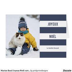 Marine Band Joyeux Noël carte photo Card