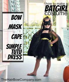 Batgirl tutu dress costume