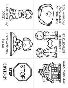 Stop the Spread of (CoronaVirus) Pack by LoveMariel Autism Classroom, Preschool Learning, Kindergarten Classroom, Preschool Activities, Beginning Of The School Year, Last Day Of School, School Reopen, First Day Of School Activities, School Signs