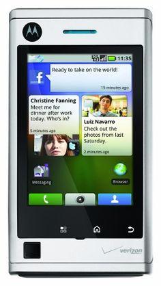 Motorola DEVOUR A555 Android Phone (Verizon Wireless)