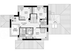 Projekt domu Dom z widokiem 3 186,93 m2   extradom