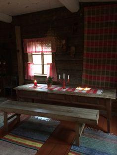 Vanhan tuvan pirtti Scandi Style, Scandinavian Home, Cabin, Traditional, Retro, Cottages, Nostalgia, Houses, Interiors