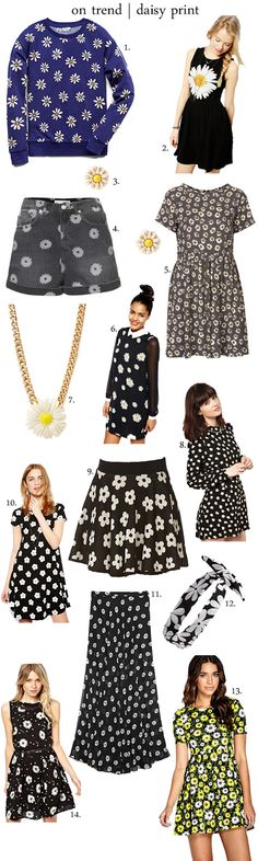 on trend | daisy print ❤